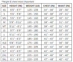 Billabong Ladies Wetsuit Size Guide