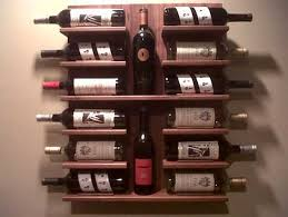 Amazing Wine Racks Wall Mounted Do It Yourself Indoor Outdoor Decor In Wine  Rack On Wall ...