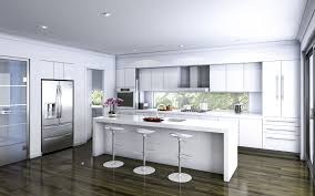 White Kitchen Wooden Floor Outstanding Beauty N Fashion Pinterest Modern Kitchen