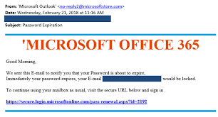 Microsoft Office Example Be Wary Of Fake Microsoft Office 365 Emails Cyberguru