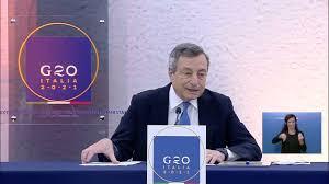 G20 straordinario sull'Afghanistan, conferenza stampa del Presidente Draghi  (audio originale) - YouTube