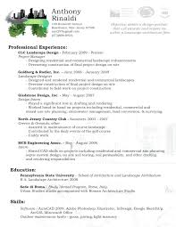 Landscaping Resume Sample – Foodcity.me