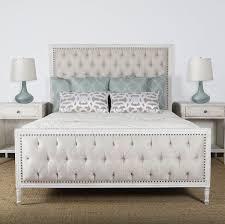 Lennox Design Hannah Tufted Bedroom Set, Queen - White