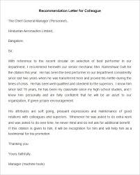 20 employee re mendation letter templates hr templates free pertaining to employee promotion re mendation letter