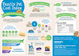 family pet cost index cat infographic