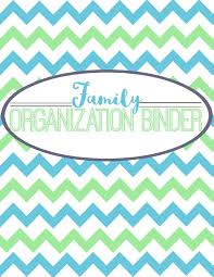 Binder Cover Page Family Organization Binder Cover Page Simply Sweet Days