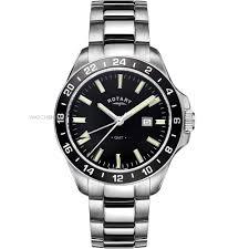 "men s rotary gmt watch gb05017 04 watch shop comâ""¢ mens rotary gmt watch gb05017 04"