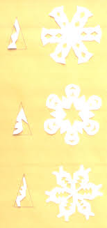 picture of diffe paper snowflake cuts