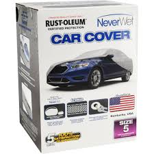 Rust Oleum Car Cover Rust Oleum Neverwet Car Cover Size 5 Walmart Com