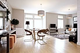 drum light fixture family room contemporary with accent colors area rug