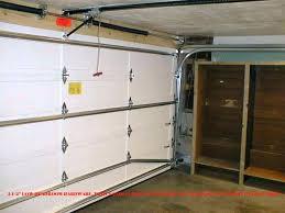 zero clearance garage door opener low headroom garage door installation low headroom garage door installation manual