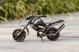 handmade motorcycle toy stock photo picture and royalty free