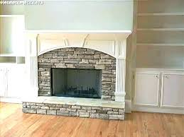 stone tiles fireplace tile fireplace stone over tile home designs idea pics fronts ideas to