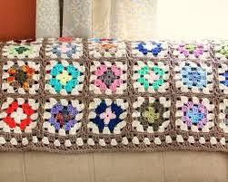 Granny Square Blanket Pattern Mesmerizing Free Crochet Granny Square Blanket Pattern Petals To Picots