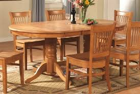 Charming Chunky Solid Oak Dining Table And 6 Chairs 52 For Dining Solid Oak Dining Room Table