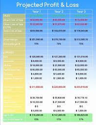 Business Proforma Template Inspirational Elegant Plan Pro Templates