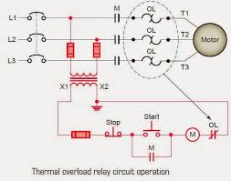 showing post media for electric thermal overload symbol electric thermal overload symbol thermal overload relay circuit operation