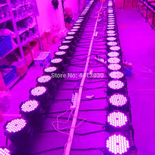 Colour Wash Lighting Us 59 8 8 Off Led Par Lights 54x3w Led Dmx Colour Wash Par Can Stage Lighting Super Bright For Wedding Dj Event Party Show In Stage Lighting Effect