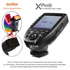 <b>Godox XPro</b>-<b>N TTL</b> Wireless Flash Trigger For Nikon D700 D800 ...