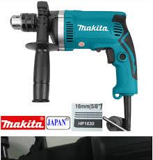 Mua Máy khoan cầm tay chính hãng, Máy khoan điện Makita HP 1630 có khoan  búa -