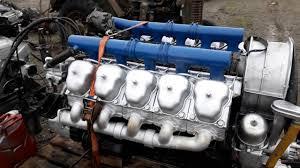 Motor Tatra 815 T 2 - YouTube