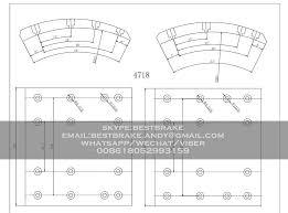 4718 Cv Brake Lining Commercial Vehicle Vehicles Trucks
