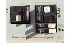 central air conditioner fuse central ac breaker central ac breaker fuse metal box