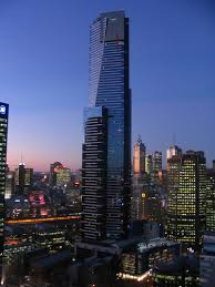 Eureka Tower is a 297.3-metre (975 ft) skyscraper located in the Southbank