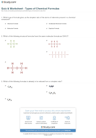 print what is a chemical formula definition types examples worksheet