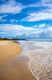 beach, byron bay, lighthouse, cloud ...