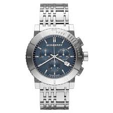 burberry men s bu2308 trench chronograph silver stainless steel burberry men s bu2308 trench chronograph silver stainless steel watch