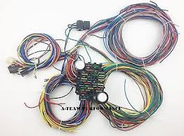 21 circuit 17 fuses ez wiring harness chevy mopar ford hot rod 100% brand new 20 circuit wiring harness chevy mopar ford jeep hotrods universal