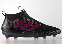 adidas ace 17 purecontrol fg core black shock pink blue