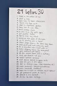 29 Before 30 Bucket List Kristen Mcashan