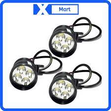 Đèn LED trợ sáng đi phượt 4 bóng L4 gắn xe máy, xe moto,...