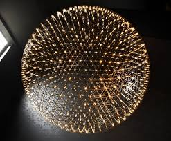 moooi s raimond chandelier bursts with dozens of tiny led lights inhabitat green design innovation architecture green building