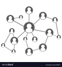 Global Social Network Royalty Free Vector Image