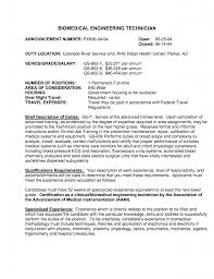 biomedical equipment technician resumes template biomedical equipment technician resumes
