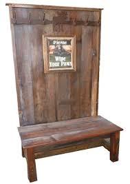 Wooden Coat Rack With Bench Bradley's Furniture Etc Cabin Accessories 84