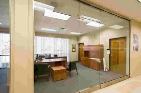 clear office. Frameless Clear View Office Glass Partition