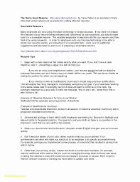 Sample Resume With Summary Of Qualifications Format Fresh How To