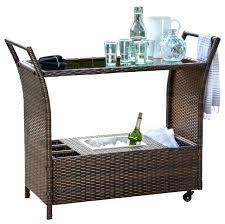 outdoor serving cart brown wicker serving bar cart tropical outdoor serving carts outdoor serving cart ikea