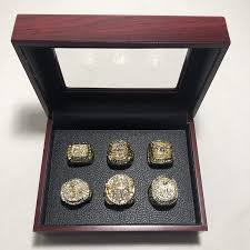 Los angeles lakers single game and 2020 season tickets on sale now. Set Of 6 Kobe Bryant Black Mamba Los Angeles Lakers Finals Championship Replica Ring W Box Various Sizes Gold Color Collectible At Amazon S Sports Collectibles Store