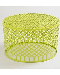 a colorful coffee table for a screened in porch or sun room get it here