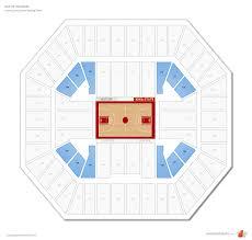 Hilton Coliseum Iowa State Seating Guide Rateyourseats Com