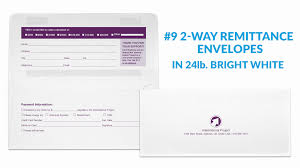 Elegant Remittance Envelope Template | Best Business Template