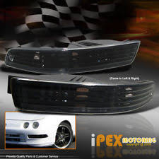 black acura integra jdm. acura 19941997 integra jdm black front turn signal bumper light lamp pairl jdm
