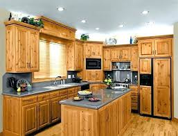 natural hickory kitchen cabinets pictures rustic images