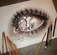 cool easy drawings 3d art coloured pencils 100 photos and tutorials for cool things to draw and get inspiration from