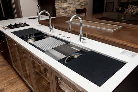 the galley sink. Delighful Galley IWS 7 Large Stainless Steel Kitchen Sink Graphite Wood Composite Culinary  Kit Inside The Galley Sink C